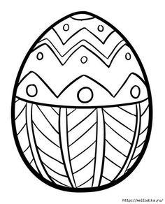 Пасхальные трафареты. Идеи для росписи пасхальных яиц. Spring Coloring PagesAdult  Coloring PagesEaster Egg ...