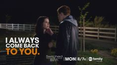"S3 Ep12 ""Love Among the Ruins"" - Are these two meant to be together #SwitchedAtBirth"