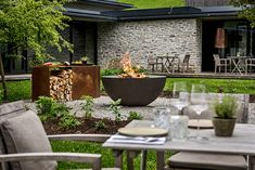 Backyard, Patio, Fire, Places, Outdoor Decor, Home Decor, Fire Ring, Architecture, Projects