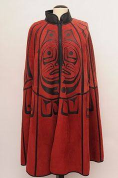 Betty David was a native American (Spokane tribe) designer who passed away in They're selling off the very last of her inventory now, and I think this is the prize piece! Spokane Tribe, Sherman Alexie, Native Fashion, Reverse Applique, Tlingit, Native Style, Native American Art, Historical Clothing, Native Americans