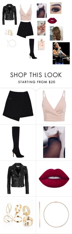 """""""Guest on Ambrose Asylum"""" by annaconley on Polyvore featuring MARC CAIN, Nine West, IRO, Lime Crime, Ginette NY and Chanel"""