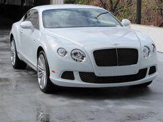 White Bentley Continental
