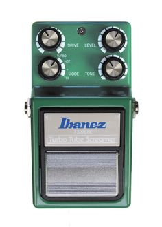 Ibanez TS9DX turbo tube screamer, es la ultima version de los pedales de distorsion-overdrive mas clasicos de la historia. #musicheadstore #pedal #ibanez