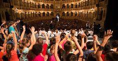 TEATRO DELL'ARGINE: all'Arena del Sole di Bologna in scena 1.000 FUTURI MAESTRI dai 3 ai 18 anni e tanti ospiti illustri