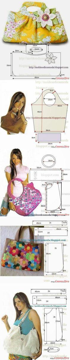 Летние сумки своими руками - выкройки - Клуб рукоделия - Страна Мам