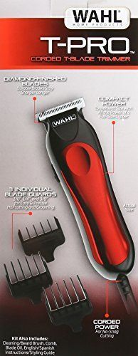 Electric Hair Trimmer Professional Beard Clipper Mustache Shaver Barber Cut Kit #ElectricHairTrimmer
