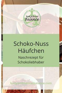 #Schoko-Nuss Häufchen