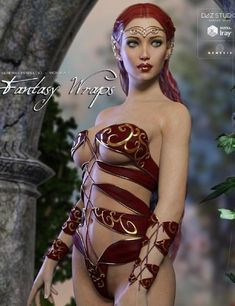 3D Model  Fantasy Wraps for Genesis 3 Female(s) Free Download http://ift.tt/2DPfPpp