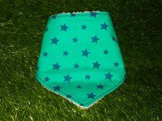 "Bandana ""Estrellas verdes"""