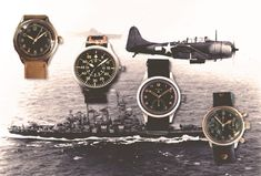 A Brief Guide to the Iconic Military Watches of World War II — 60Clicks