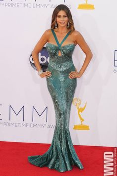 womensweardaily:  Sofia Vergara in Zuhair Murad at the Emmy Awards.