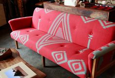 "gypsylolita: "" Beam & Anchor - Own - Thrillist Portland "" Furniture Projects, Diy Furniture, Furniture Design, Hippie Designs, Funky Home Decor, Piece A Vivre, Textiles, Home Gadgets, Bohemian Interior"