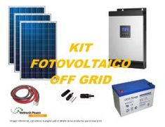 Kit Energía Solar Off Grid 5000W Full Off The Grid, Kit, Off Grid