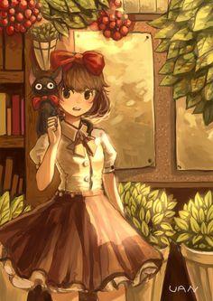 Tagged with wallpaper, mildly interesting, anime, aww; Kiki's Delivery Dump Kiki Delivery, Kiki's Delivery Service, Studio Ghibli Art, Studio Ghibli Movies, Manga Art, Anime Manga, Anime Art, Hayao Miyazaki, Totoro