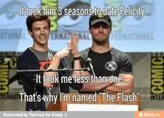 Barry vs Oliver dating Felicity