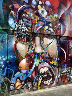 Street Art in SF @ Mission District