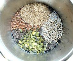 Veganmisjonen: Fem-frø-brød Acai Bowl, Beans, Food And Drink, Baking, Vegetables, Breakfast, Acai Berry Bowl, Morning Coffee, Bakken