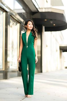 Holiday Love :: Emerald jumpsuit & Tiered lace Wendy's Lookbook waysify