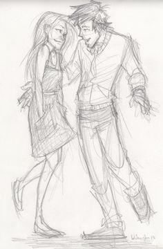 Blair and Prosper by Viria on tumblr