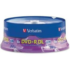 Verbatim 8x Dvd+r Double Layer Media #96542