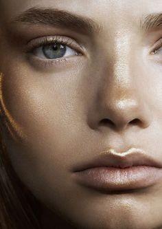Beautifully bronzed make-up beauty makeup, natural makeup 및 Makeup Inspo, Makeup Inspiration, Makeup Tips, Eye Makeup, Glow Makeup, Luminous Makeup, Makeup Ideas, Witch Makeup, Scary Makeup