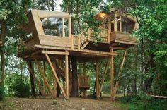 210 Sq. Ft. Modern Treehouse Tiny Home