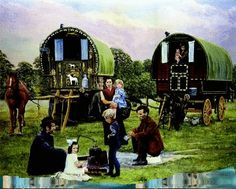 Caravans and Sheepherder Wagons