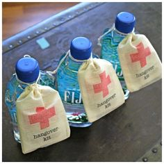 A Fantastic Wedding Favour Idea-hangover wedding it