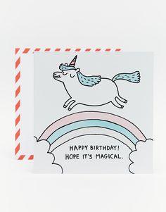 Bild 1 von Ohh Deer – Gemma Correll – Geburtstagskarte mit Einhorn