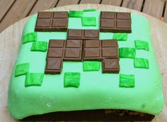 homemade Minecraft cakes that you can make yourself - Google Search