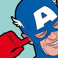 The Secret Life of Heroes. Pop Art Illustrations