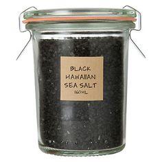 black hawaiian sea salt.