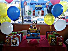 Despicable Me Birthday Party Ideas   Photo 8 of 13   Catch My Party