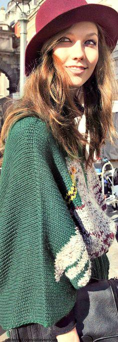 Street style - Karlie Kloss.