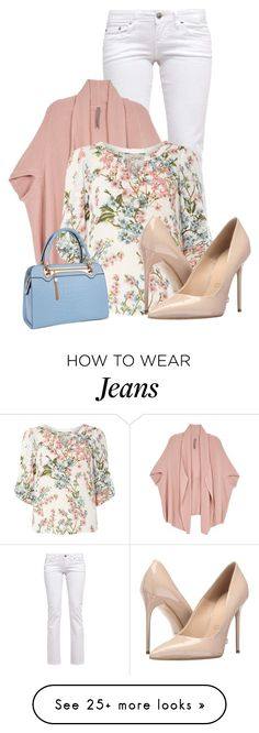"""jeans"" by kim-coffey-harlow on Polyvore featuring Melissa McCarthy Seven7, Billie & Blossom, Massimo Matteo, Relaxfeel and plus size clothing"