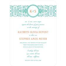 Seaside Style Wedding Cards