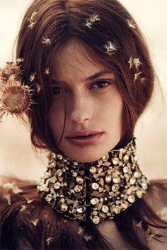 Cassie -  Australian Vogue April