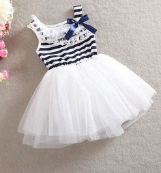 Tutu white vintage dress infants, tutu lace dress toddlers, with matching blue lace tights and hair bow
