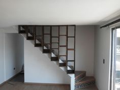 Biblioteca colgante Stairs, Home Decor, Furniture, Blue Prints, Stairway, Decoration Home, Room Decor, Staircases, Home Interior Design