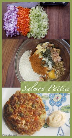 World's Best Salmon Patties - These are amazing! They're dairy free, can be grain free, and have all Real Food ingredients.