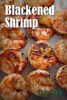 This blackened shrimp recipe tastes like summer!