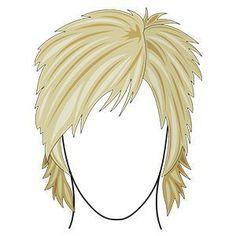 shag haircut with choppy ends