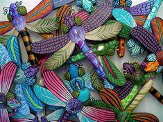 Polymer clay dragonf...