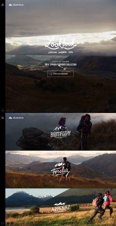Quechua – Look Book Spring Summer 14, May 9, 2014. http://www.awwwards.com/web-design-awards/quechua-look-book-spring-summer-14 #Interactive #Video #Web #Design #Responsive #UI #Inspiration #Awwwards #SOTD