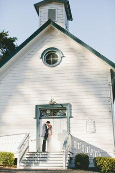 Gown from Jin Wang Bridal #jinwangbride   Photography: onelove photography - onelove-photo.com  Read More: http://www.stylemepretty.com/california-weddings/2015/04/13/rustic-summer-wedding-in-marin-county/