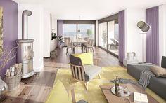 Lerch Immobilien AG 3d Modellierung, Modern, Studios, Patio, Outdoor Decor, Home Decor, Real Estates, Architecture, Trendy Tree