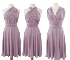 Infinity Dress Convertible/Twist lavender color by Emilydresses