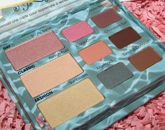 Too Faced Summertime Sexy Shadow Collection for Summer 2012