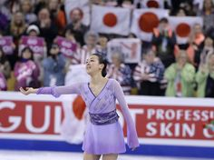 Mao Asada, of Japan, competes during the free skate in the World Figure Skating Championships, Saturday, April 2, 2016, in Boston. (AP Photo/Steven Senne) (2484×1854)