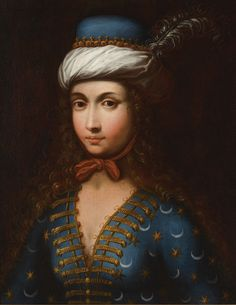 A Portrait of Lady Mary Wortley Montagu in Ottoman dress, English School, 18th/19th century | Lot | Sotheby's